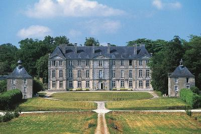 Chateau of Loyat, 18th Century, Brittany, France--Photographic Print