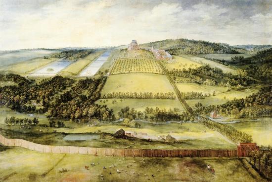 Chateau of Mariemont-Jan Brueghel the Elder-Giclee Print