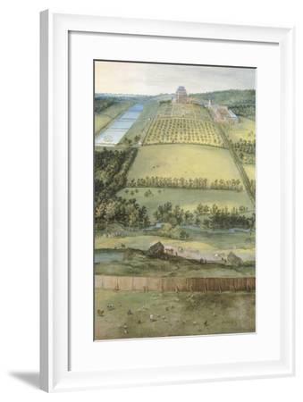 Chateau of Mariemont-Jan Brueghel the Elder-Framed Giclee Print