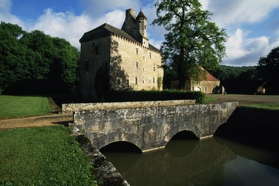 Chateau of Thenissey, Founded in 15th Century, Burgundy, France--Photographic Print