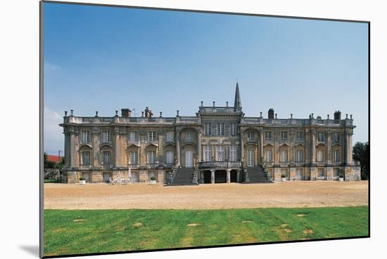 Chateau of Versigny, 1640-1690, Picardy, France--Mounted Photographic Print