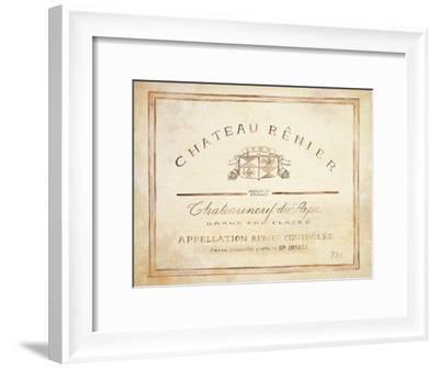 Chateau Renier-Angela Staehling-Framed Art Print