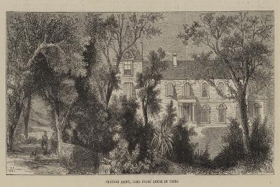 Chateau Rigny, Lord Lyons' House in Tours--Giclee Print
