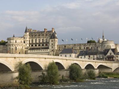 Chateau Royal D'Amboise, Indre-et-Loire, River Loire, France, Europe-James Emmerson-Photographic Print
