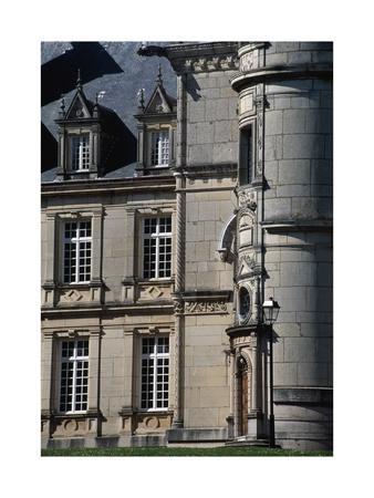 Chateau Stephen Liegeard, 1895-1902, Brochon, Burgundy, Detail, France, 19th-20th Century--Giclee Print