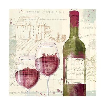 Chateau Winery III-Katie Pertiet-Art Print
