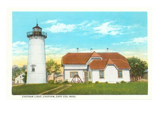 Chatham Lighthouse, Cape Cod, Mass.--Art Print