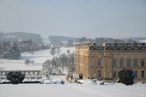 Chatsworth House from the East, Derbyshire