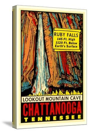 Chattanooga Decal, Ruby Falls