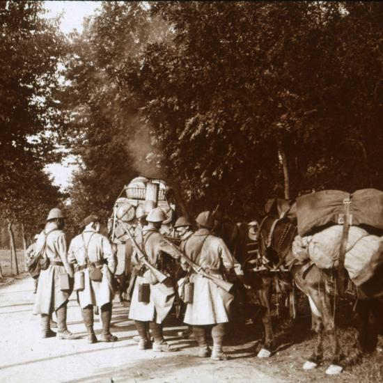 Chavonne, France, c1914-c1918-Unknown-Photographic Print