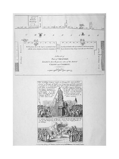 Cheapside, City of London, 1809--Giclee Print