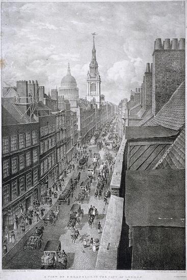 Cheapside, London, 1823-Thomas Mann Baynes-Giclee Print
