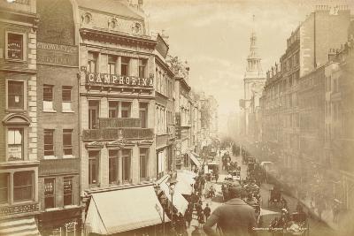 Cheapside, London, C.1885--Photographic Print