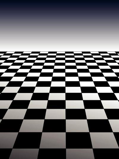 Checker Board Background-Isaac Marzioli-Photographic Print
