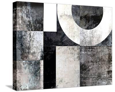 Checker V--Stretched Canvas Print