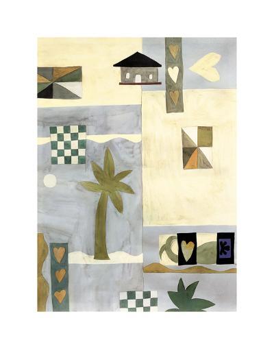 Checkerboard Travel II-Muriel Verger-Art Print