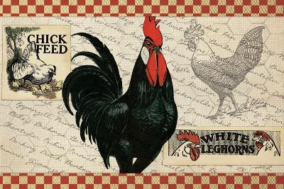 Checkered Chicken 4--Giclee Print