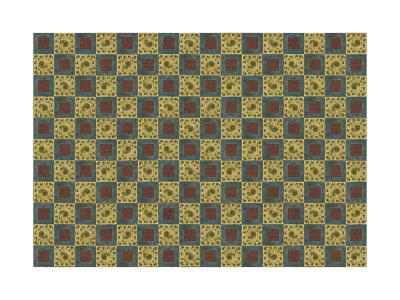 Checkered Design-Maria Trad-Giclee Print