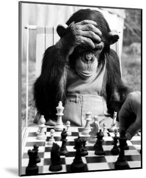 Checkmate-null-Mounted Art Print