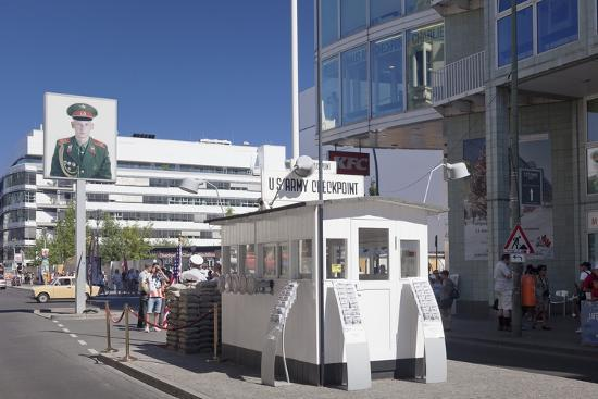 Checkpoint Charlie, Berlin Mitte, Berlin, Germany, Europe-Markus Lange-Photographic Print