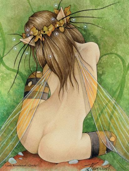Cheeky-Linda Ravenscroft-Giclee Print