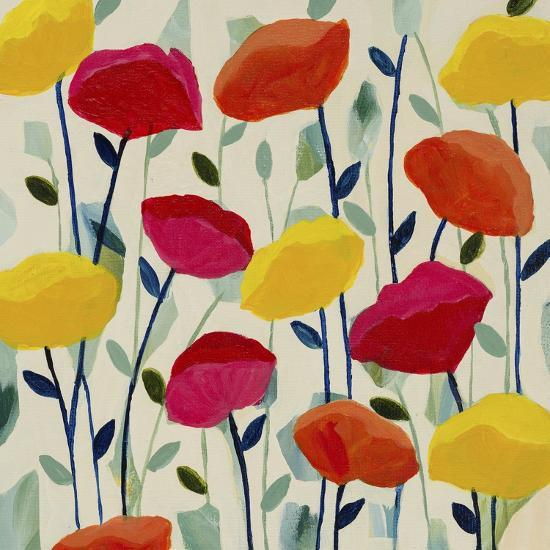 Cheerful Poppies-Carrie Schmitt-Giclee Print