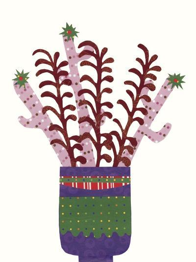 Cheerful Succulent II-Regina Moore-Art Print