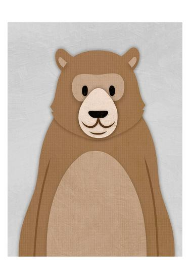 Cheery Bear-Marcus Prime-Art Print