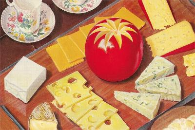 Cheese Array--Art Print