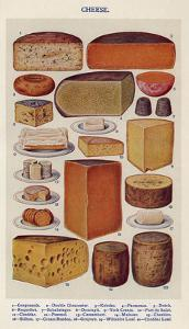 Cheese, Isabella Beeton, UK