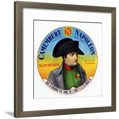 """Cheese Label """"Camembert Napoleon"""", """"Le Petit Caporal"""", Made in Normandy for Rowley and Co, London"""