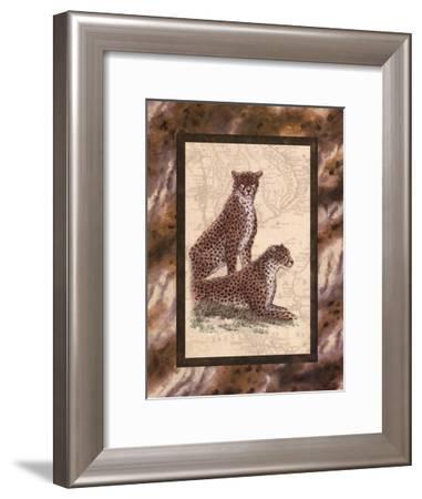 Cheetahs-Janet Kruskamp-Framed Art Print