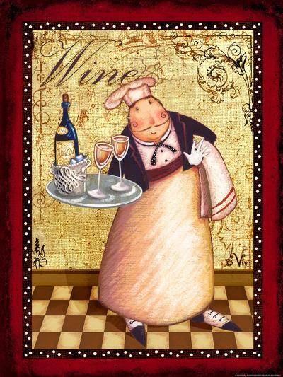 Chef 4 Wine-Viv Eisner-Art Print