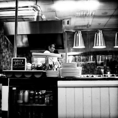 Chef in Restaurant-Rory Garforth-Photographic Print