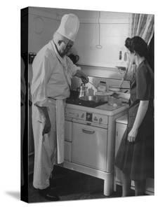 Chef Samuel Otis Cooking Breakfast at the Home of Hughston Mcbain