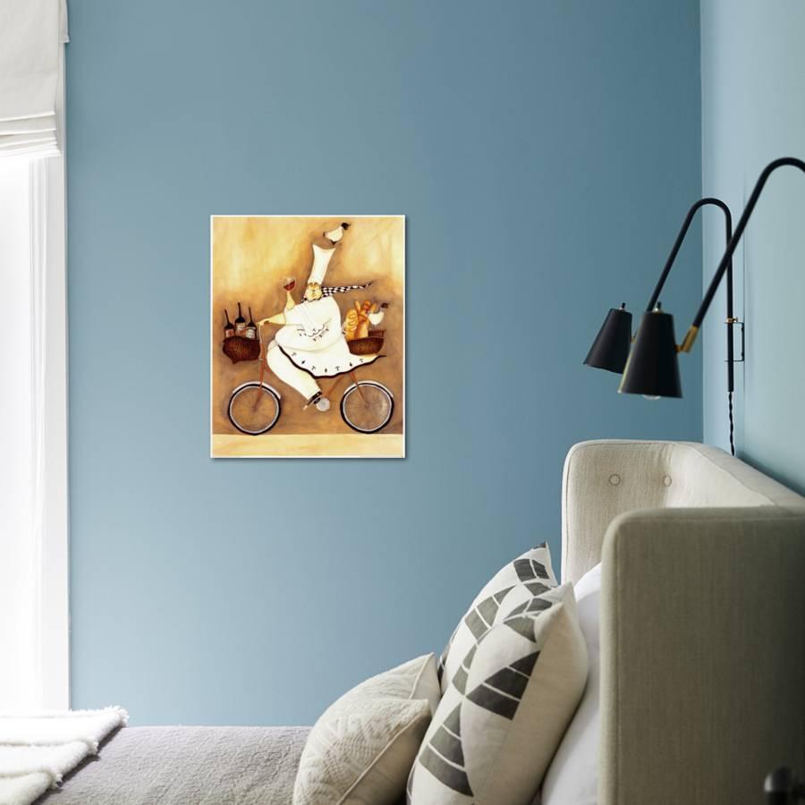 Chef To Go Art Print by Jennifer Garant | Art.com