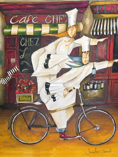 Chefs on the Go-Jennifer Garant-Giclee Print