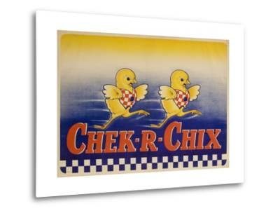 Chek-R-Chix American Feed Advertising Poster