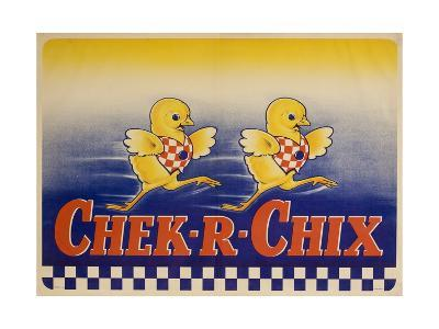 Chek-R-Chix American Feed Advertising Poster--Giclee Print