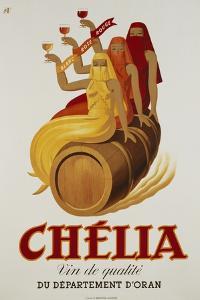 Chelia Advertising Poster