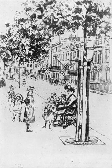 Chelsea Children, 1913-Theodore Roussel-Giclee Print