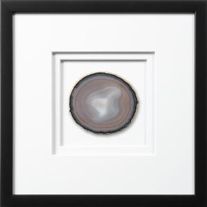 Chelsea Framed Agate - Earthtone