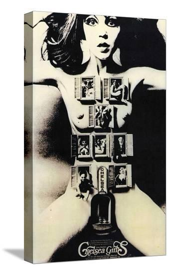 Chelsea Girls--Stretched Canvas Print