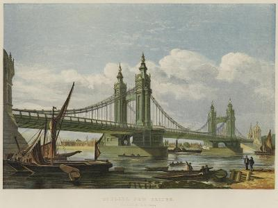 Chelsea New Bridge--Giclee Print