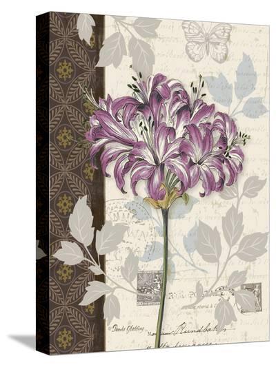 Chelsea Purple I-Pamela Gladding-Stretched Canvas Print