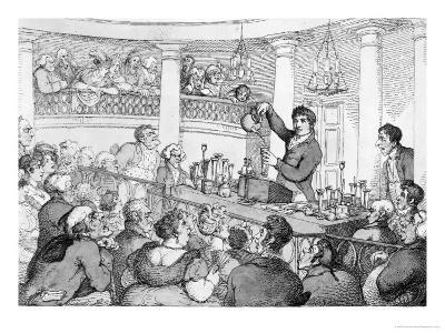 Chemical Lectures, c.1809-Thomas Rowlandson-Giclee Print