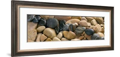 Chemin de Galets-Laurent Pinsard-Framed Art Print