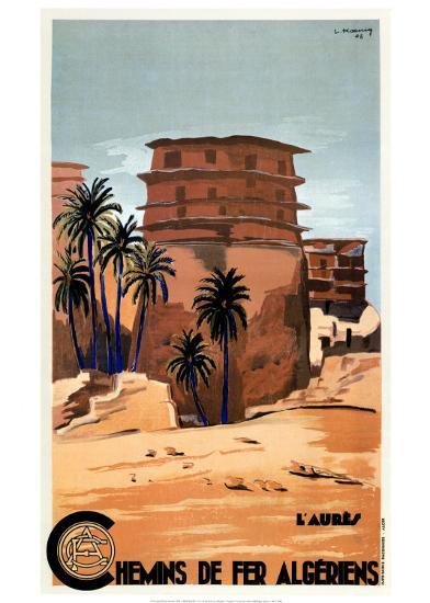 Chemins de Fer Algeriens-L^ Koenig-Art Print