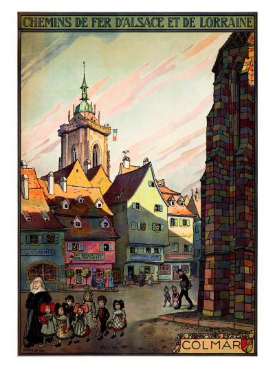 Chemins de Fer d'Alsace--Giclee Print
