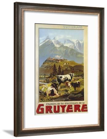 Chemins De Fer De La Gruyere 1906--Framed Giclee Print